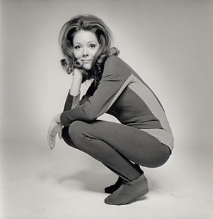 Diana Rigg by Peter Rand